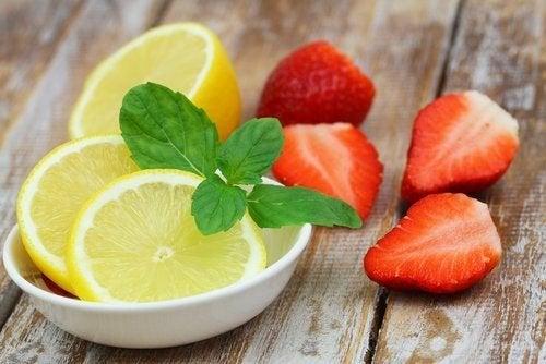 Fragole e limone