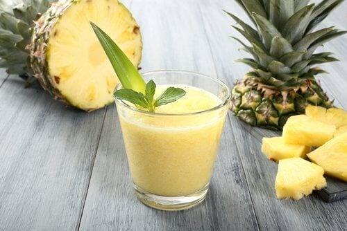 Frullato d'ananas