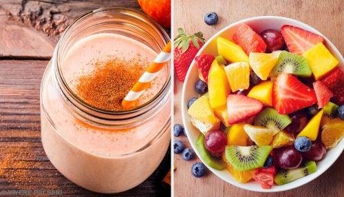 Super frullati nutrienti per ogni giorno della settimana
