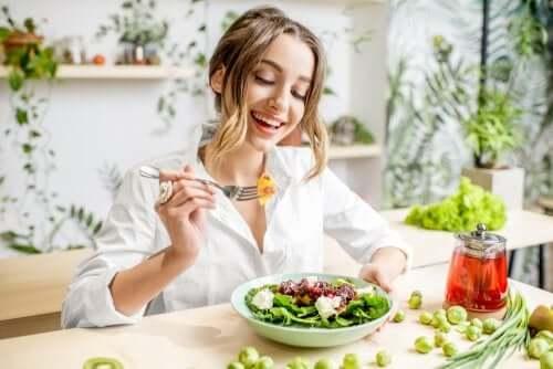 Piastrine basse: insalata nutriente