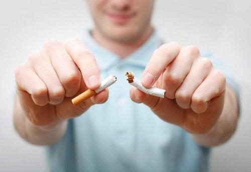 Lasciare tabacco