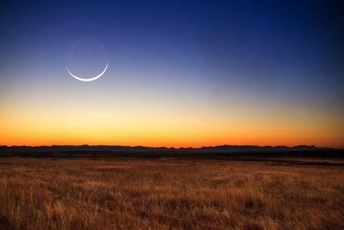 Luna in cielo