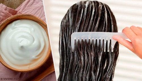 Maschere a base di maionese per ravvivare i capelli
