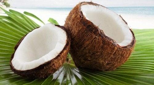 Mousse di cocco