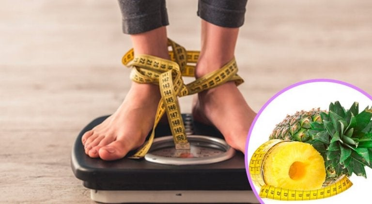 Perdere peso con la buccia d'ananas