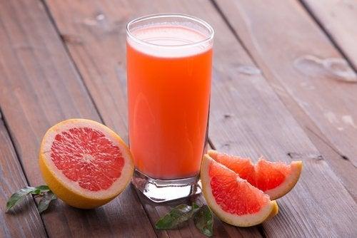 Succo di Pompelmo rosa