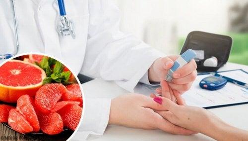 Prevenire il diabete con il pompelmo