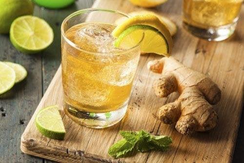 Rapano, zenzero e limone
