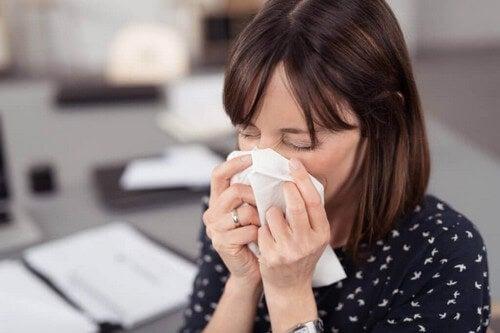 Soffrire di allergia