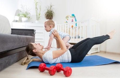 diventare mamma e stile di vita sano