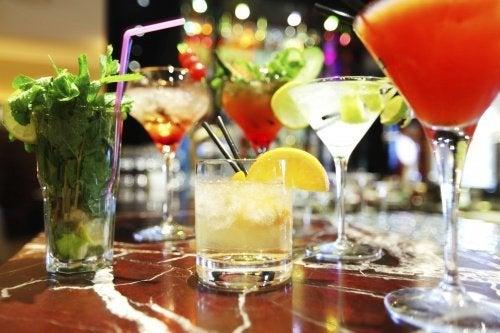 Bevande alcoliche e zuccherate