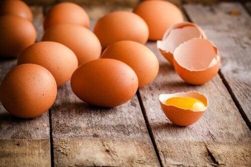 uova e guscio d'uovo