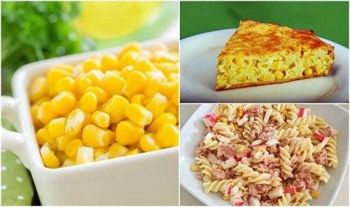 Mais dolce: 5 piatti deliziosi e facili