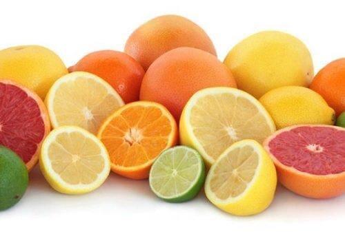 Agrumi ricchi di vitamina C