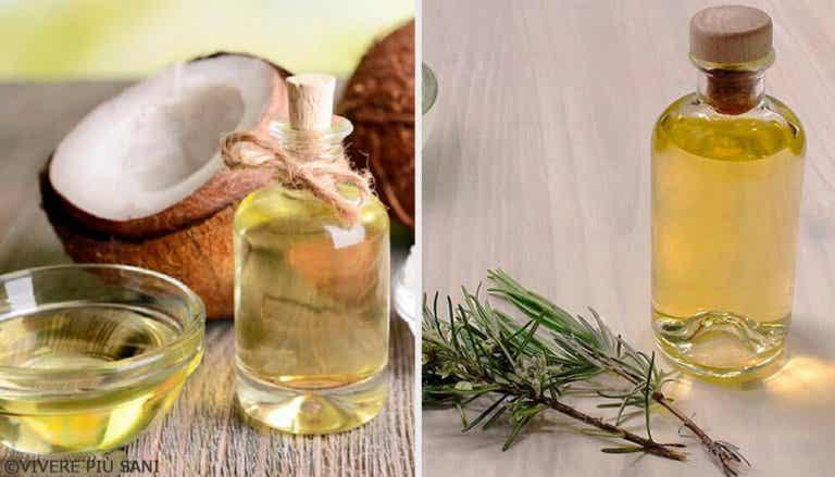 Eliminare il gonfiore grazie a olio di cocco, pompelmo e rosmarino