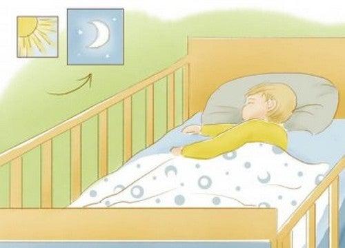 Abituare il neonato a dormire tutta la notte