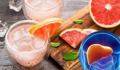 Bevanda per depurare il fegato