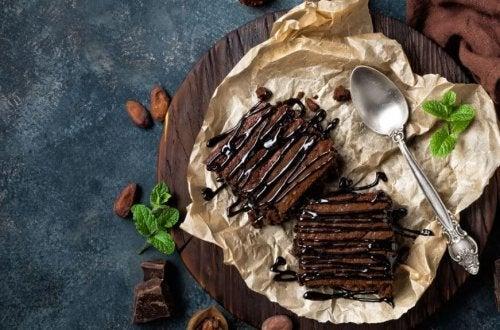 Brownie tra ricette a base di caffè