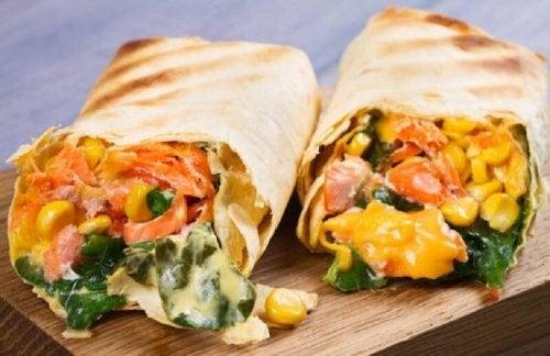 Burritos di verdure