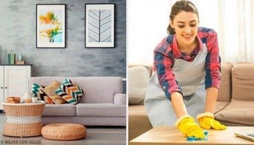 Mantenere la casa in ordine grazie a 5 abitudini