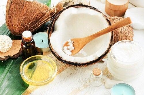 Crema di cocco naturale.