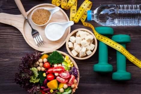 Dieta per chi esegue esercizio fisico.