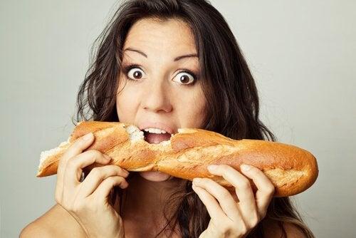 Pane bianco e conseguenze negative per la salute