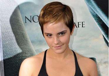 Emma Watson con lo stile pixie