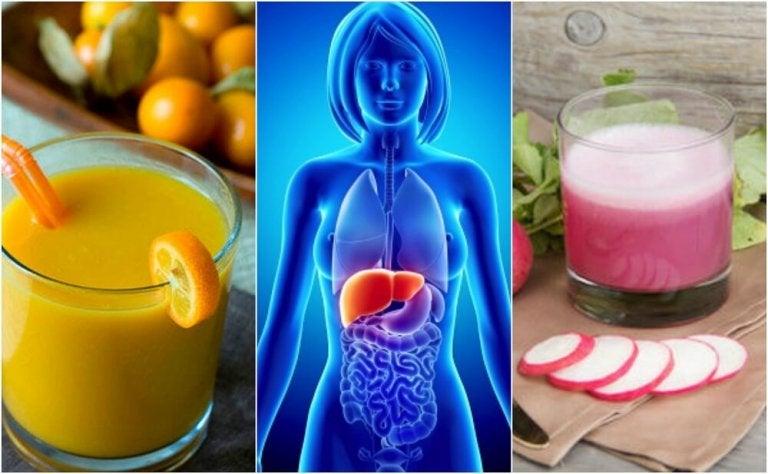 Fegato grasso: 5 bevande salutari