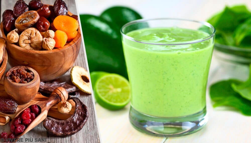 Frullati verdi: salutari e nutrienti