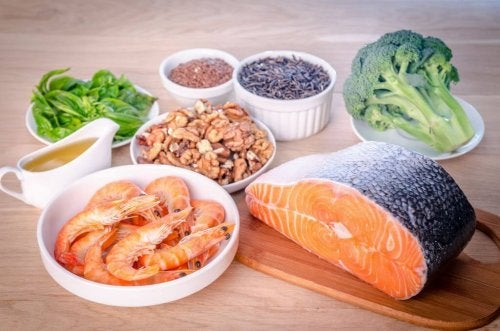 pesce verdure e semi