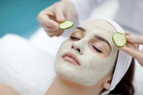 Maschera al cetriolo idratare la pelle