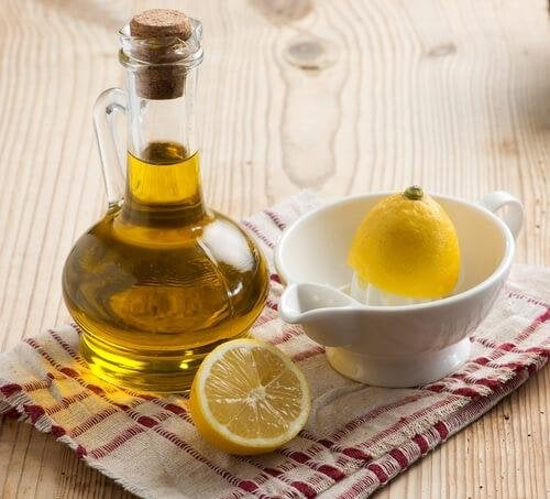 Olio d'oliva e di limone