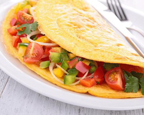 Omelette di verdure, ecco la ricetta perfetta