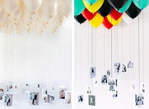 Palloncini con fotografie