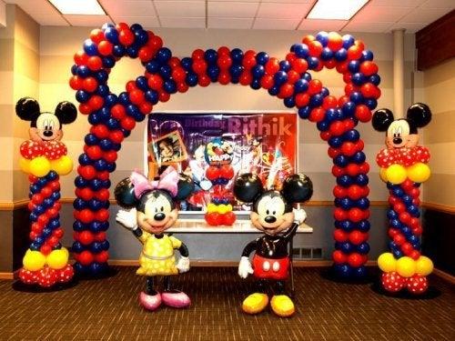Palloncino a forma di Mickey Mouse