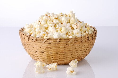 Popcorn dietetici fatti in casa