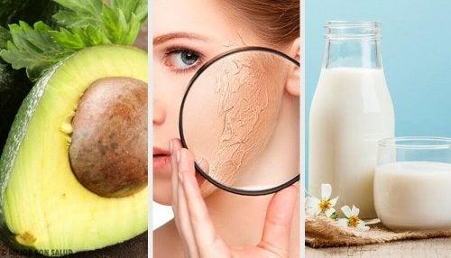 I migliori prodotti naturali per idratare la pelle secca