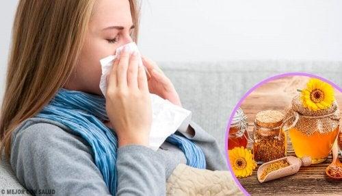 La propoli: un aiuto contro i sintomi dell'influenza