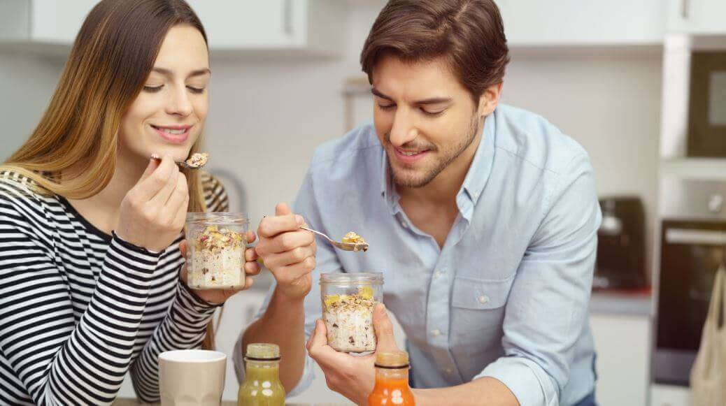 Ricette per preparare frullati con latte d'avena