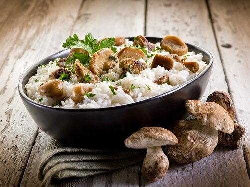 Risotto ai funghi