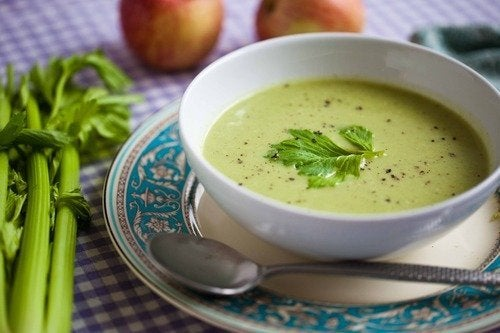 Crema di verdure per perdere peso e grassi.
