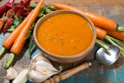 Zuppa detox per riequilibrare il potassio