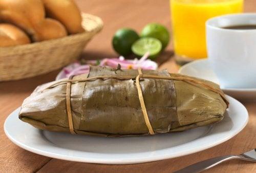 Tamales fatti in casa