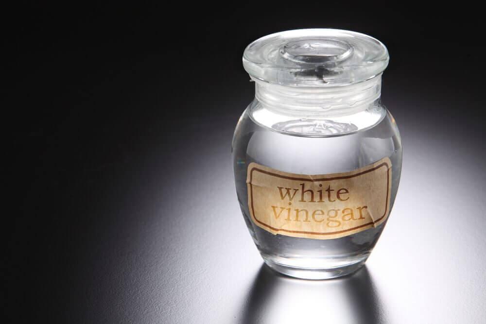 Aceto bianco in boccetta