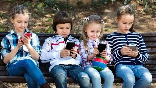 I bambini del 21 ° secolo.
