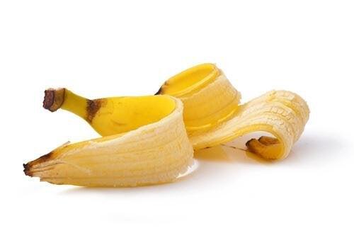 Banana per eliminare le verruche