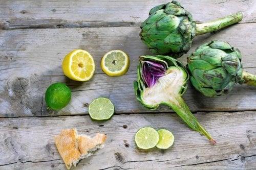 Carciofi e limoni il fegato grasso
