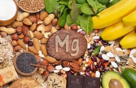 Fonti alimentari di magnesio.