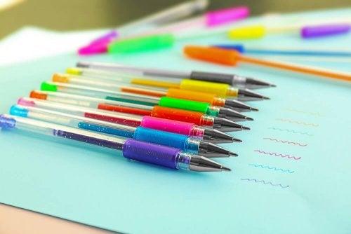 Inchiostro di penna biro